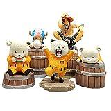 \t One Piece Figurine d'action, Bepo Portgas·D· Ace Tony Tony Chopper Baril De Vin...