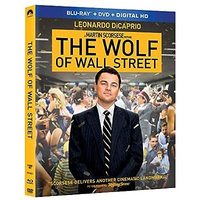The Wolf Of Wall Street - Blu-ray + DVD + Digital Brand New