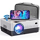 DBPOWER WiFi Projector, 7500L Full HD 1080p Video Projector with Carry Case, Support...