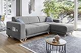 Bobochic - Bella - Canapé d'angle réversible Convertible - avec Coffre -...