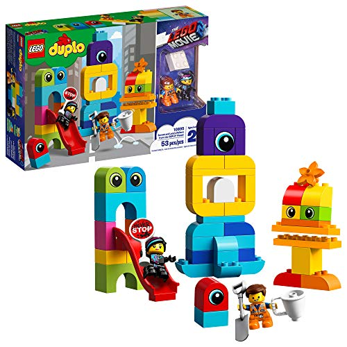 LEGO DUPLO The Movie 2 Emmet and Lucy's Visitors from The DUPLO Planet 10895 Building Bricks (53 Pieces)