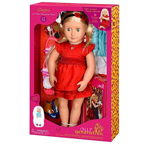 Our Generation : Ginger Doll 46 cm (18')