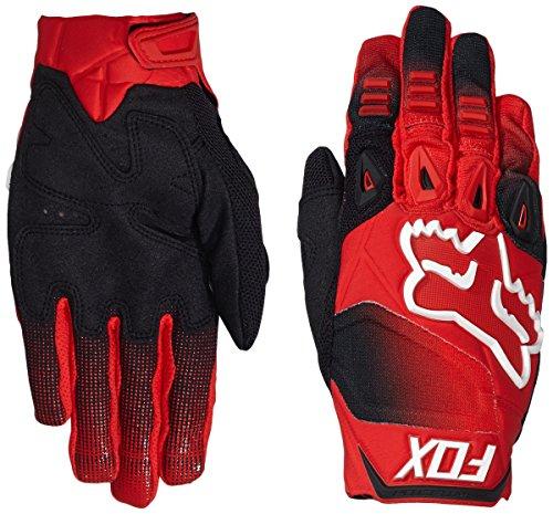 FOX, Guanti da Motocross Pawtector Race, Rosso (Red), S