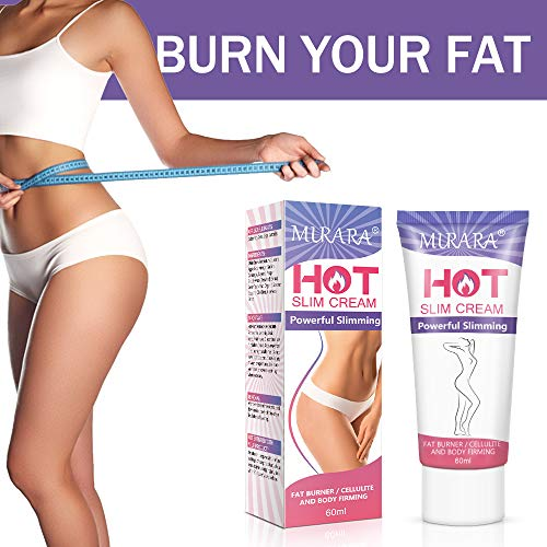 Anti Cellulite Cream,Slimming Cream, Hot Cream - Belly Fat Burner for Women and Men - Deep Tissue Massage & Muscle Relaxer for Thighs, Legs, Abdomen, Arms and Buttocks, for Body Sculpting 4