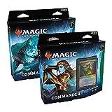 Magic The Gathering Kaldheim Commander Deck Display de 6 Barajas, Multicolor (Wizards of The Coast MTG-KHM-CD-EN)
