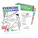 WorkoutLabs Exercise Cards: Bodyweight – Premium Home Workout Cards Deck for Women and Men with 60 Exercises and 12 No Equipment Routines · Premium Plastic Fitness Cards
