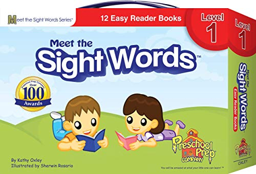Meet the Sight Words - Level 1 - Easy Reader Books (boxed...