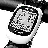 MEILAN M3 Mini GPS Compteur de Vélo, Multifonction Ordinateur de Vélo Étanche Compteur Kilométrique sans Fil Vitesse Odomètre avec Écran LCD pour Vélo De Route VTT
