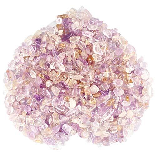 Rockcloud 1 lb Ametrine Tumbled Chips Crushed Stone Healing...