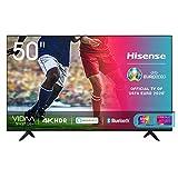 Hisense 50AE7000F, Smart TV LED Ultra HD 4K 50', HDR 10+, Dolby DTS, con Alexa integrata, Tuner DVB-T2/S2 HEVC Main10 [Esclusiva Amazon - 2020]