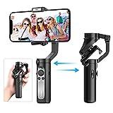 Smartphone Stabilisateur - Gimbal Stabilisateur pour iPhone 11 Pro/XR/XS...