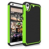 HTC Desire 626 Case, Desire 626S Case, Jeylly [Shock Proof] Scratch Absorbing Hybrid Rubber Plastic Impact Defender Rugged Slim Hard Case Cover Shell for HTC Desire 626S/626 All Carriers