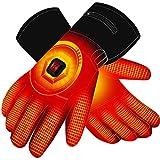 Autocastle Men Women Rechargeable Electric Warm Heated Gloves Battery Powered Heat Gloves Kit,Winter...