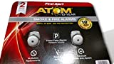 First alert smoke Fire alarms 2 pk fewer false alarms atom 10 - year