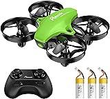 Potensic Mini Drone A20 pour Enfants Avion Hélicoptère avec 3 Batteries,...