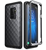 Clayco Samsung Galaxy S9+ Plus Case, [Hera Series] Full-Body Rugged Case Without Screen Protector for Samsung Galaxy S9+ Plus (2018 Release) (Black)