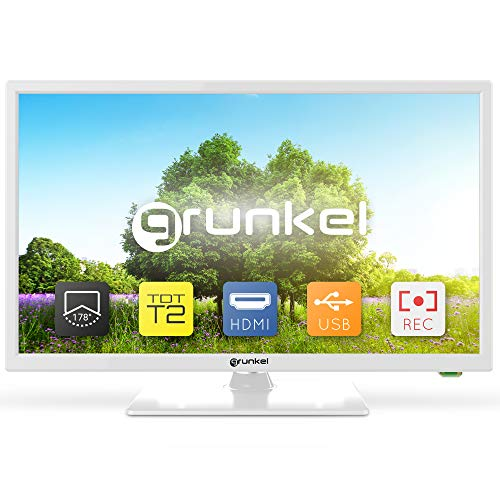 Grunkel - LED-2420B - Televisor de 61 centímetros con Panel HD...