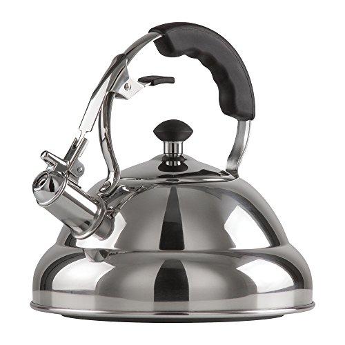 Chef's Secret 2.75-Quart T-304 Stainless-Steel Tea Kettle, a...