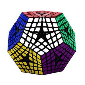 HXGL-Cubos Mágicos Cubo 6x6x6 Pentagonal Velocidad Dodecaedro Cubo Mágico Rompecabezas De Juguete De Regalo For Niños Y…
