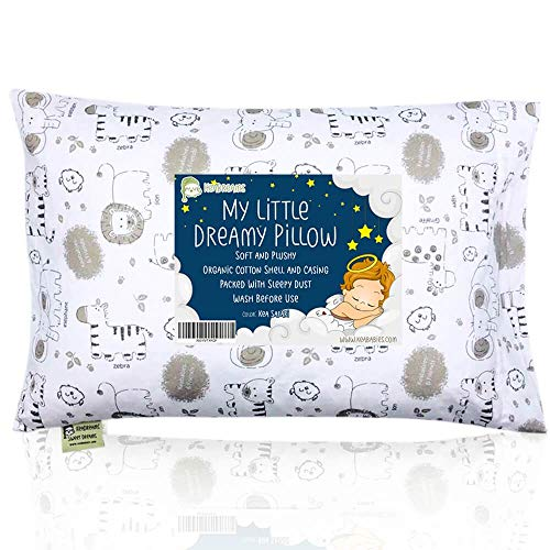 51OE76XxGJL - 7 Best Baby Pillows That Can Put an End to Toddler Bedtime Struggles