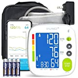 GreaterGoods Bluetooth Full Set Blood Pressure Monitor Cuff and Kit, Carrying Case, Batteries, Plug, Cuff, Monitor, Free App for Your iPhone and Android (Full Kit)