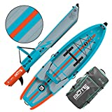 BOTE Deus Aero Inflatable Kayak & Stand Up Paddle Board | Kayak for Fishing & Recreation