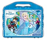Clementoni- Frozen Rompecabezas maletín 12 Cubos, Multicolor (41186)