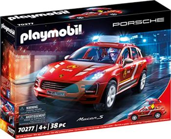 PLAYMOBIL 70277 Porsche Porsche & Toy Figures, Multicoloured