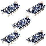 Longruner 5 Pièces Mini Nano V3.0 ATmega328P 5V 16M Micro Contrôleur Module...