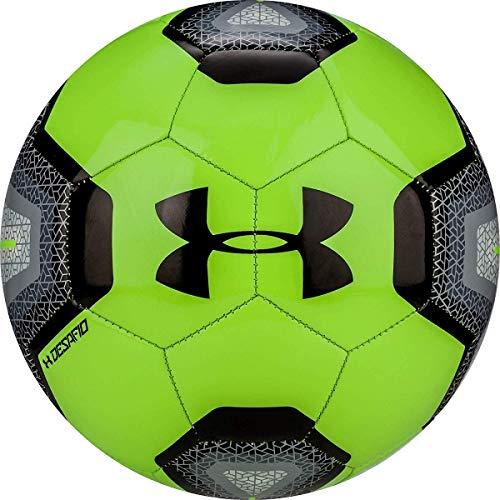 Under Armour Unisex Desafio 395 Soccer Ball, Kids, Lime/Black, 3