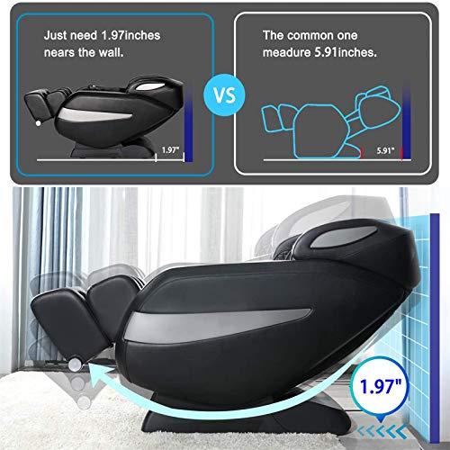 Massage Chair, Zero Gravity Massage Chair, Full Body Shiatsu Massage Chair Recliner with Space Saving, Yoga Stretching, SL Track, Bluetooth Speaker, Heat,Foot Roller&Vibrator Ugears B-L1 3