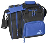 BSI Deluxe Single Ball Bowling Bag- Blue