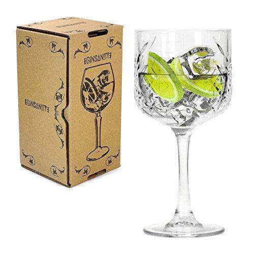 Ginsanity Classic 550ml Gin bicchiere Celebrazione / Occasioni speciali / Bicchiere da cocktail