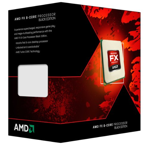 AMD Black Edition FX-8300 Vishera 8-Core Socket AM3-Plus 95W...