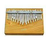 MAGADI M30 【圧倒的に広い30キー鍵盤・半音階カリンバ】高音質、高品質アメリカンチェリー木材, ドイツ性鋼キー【国内正規品】