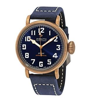Zenith Pilot Type 20 Extra Special Bronze Automatic Matte Blue Dial Men's Watch 29.1940.679/57.C808