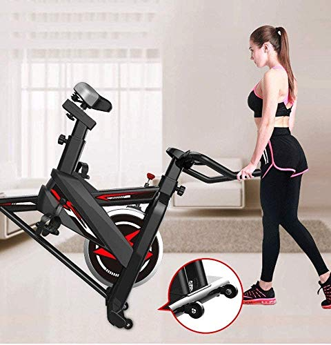 YFFSS Exercise Bikes, Ultra-Quiet Exercise Bike, Home Adjustable Exercise Pedal Spinning Bike, Professional Magnetic Control Indoor Weight Loss Exercise Fitness Equipment 6