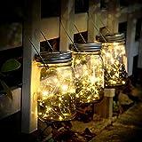 SUNNOW Lampes Décoratives De Jardin Solaire, 3 Pièces 20led Lanterne Solaire,...