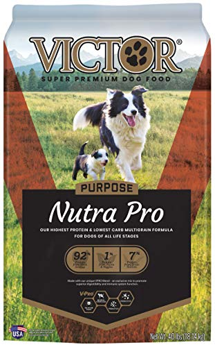 VICTOR Purpose - Nutra Pro, Dry Dog Food, 40 lb