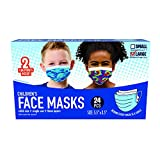 Just Play Children's Single Use Face Mask, 24 Count, Ages 8 and up
