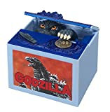 TOMY New Godzilla Movie Musical Monster Moving Electronic Coin Money Piggy Bank Box
