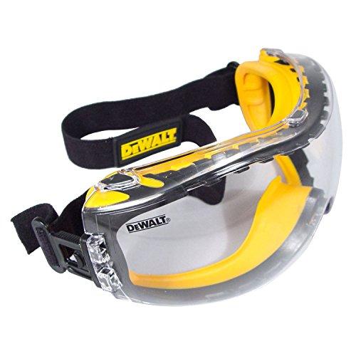 DEWALT DPG82-11/DPG82-11CTR Concealer Clear Anti-Fog Dual Mold Safety...