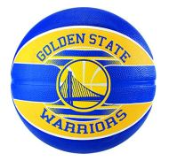 Spalding bola basquete time nba borracha - golden state warriors