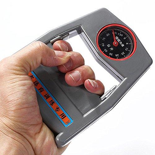 Dinamómetro de mano de agarre del lector Fuerza Contador equipo de la aptitud