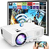 Proyector, Proyector Full HD 1080P, Proyector WiFi 6000 Lumens, Proyector Mini Compatible con TV...