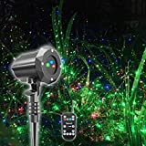 Poeland Christmas Projector Light, Moving Model, RGB (Red, Green, Blue) (Renewed)