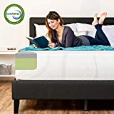 Best Choice Products 12in Full Size 2-Layer Medium-Firm Mattress w/Moisture Wicking, Odor Reducing Bamboo Charcoal Gel & Green Tea Infused Memory Foam - CertiPUR-US Certified