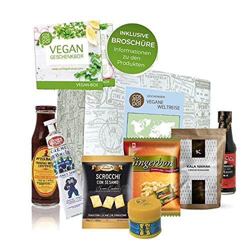 Außergewöhnliche Geschenk Box Vegane Weltreise | Vegane Lebensmittel aus aller Welt | Vegane...