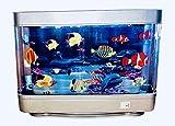 Lightahead Artificial Tropical Fish Dolphin Aquarium Decorative Lamp Virtual Ocean in Motion (Marine Life B)