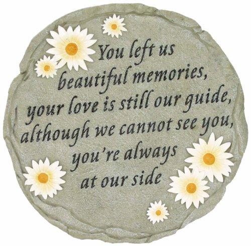 Spoontiques - Garden Décor - You Left Us Beautiful Memories -...